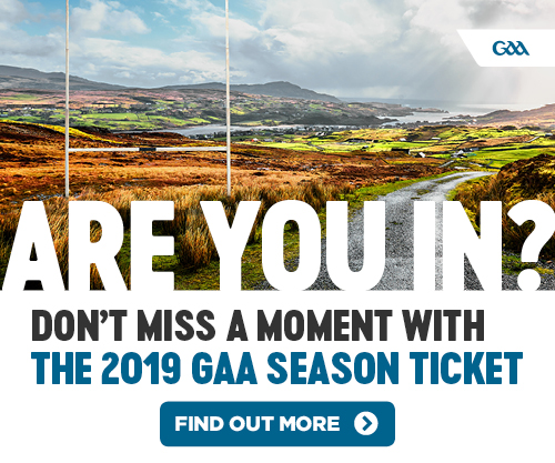 2019 GAA Season Ticket